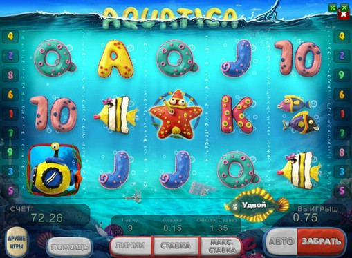 Apariția slotului Aquatica