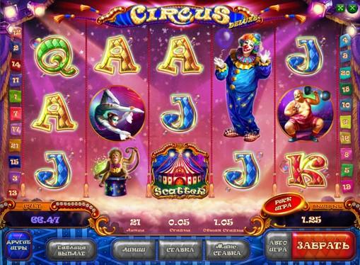 Apariția slotului Circus HD
