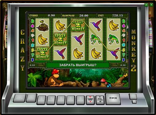 Bonus combinație de jocuri mecanice Crazy Monkey 2