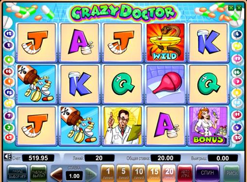 Crazy Doctor jucați jocuri mecanice online pentru bani