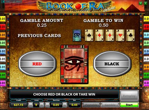 Dublarea jocului de jocuri mecanice Book of Ra Deluxe