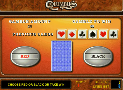 Dublarea jocului de jocuri mecanice Columbus