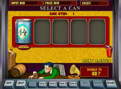 Dublarea jocului de jocuri mecanice Lucky Haunter
