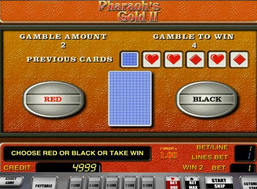 Dublarea jocului de jocuri mecanice Pharaohs Gold II