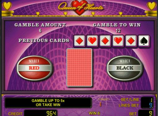 Dublarea jocului de jocuri mecanice Queen of Hearts