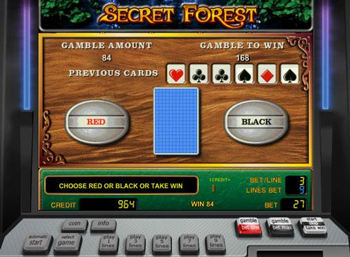 Dublarea jocului de jocuri mecanice Secret Forest