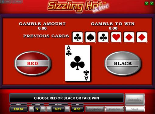 Dublarea jocului de jocuri mecanice Sizzling Hot Deluxe