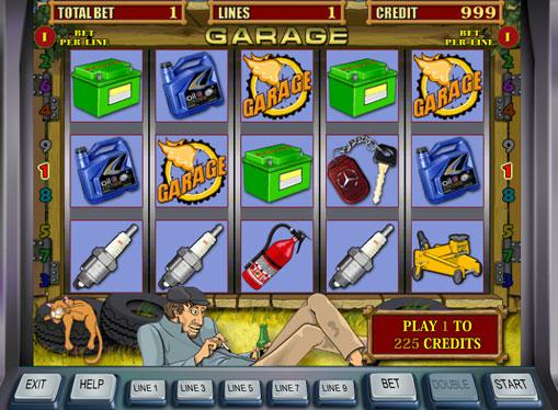 Garage jucați slotul online