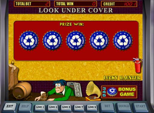 Joc bonus de jocuri mecanice Lucky Haunter