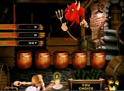 Jocul bonus de jocuri mecanice Lucky Drink
