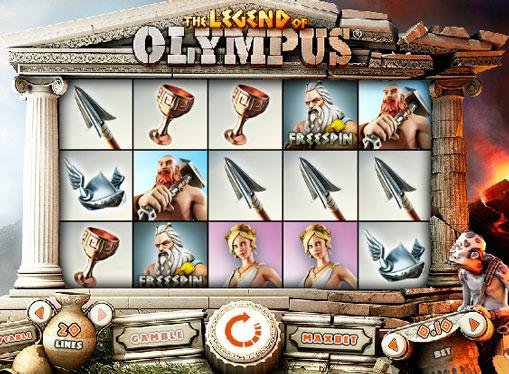 Jocuri mecanice Legend of Olympus online pentru bani