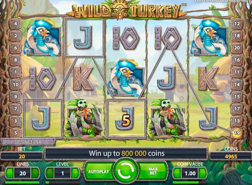 Jocuri mecanice Wild Turkey pentru bani reali