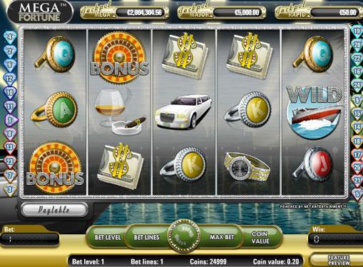 Mega Fortune jucați slotul online