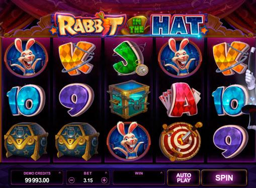 Păcănele pentru bani reali - Rabbit in the Hat