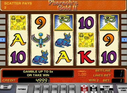 Pharaohs Gold II jucați slotul online