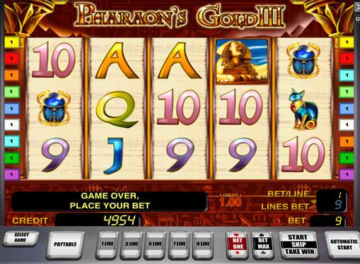 Pharaoh's Gold III jucați jocuri mecanice online