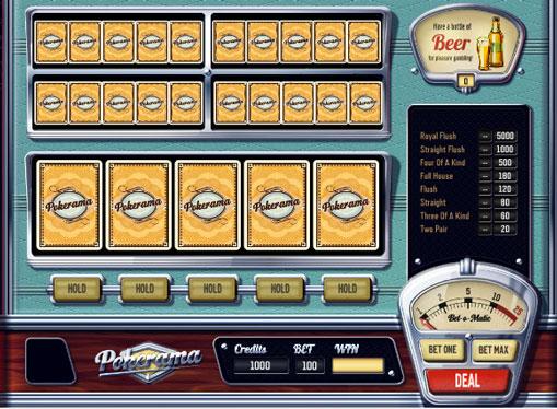 Pokerama jucați jocuri mecanice online pentru bani