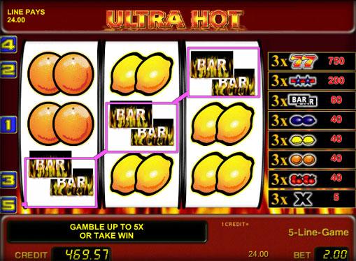 Premii de jocuri mecanice Ultra Hot