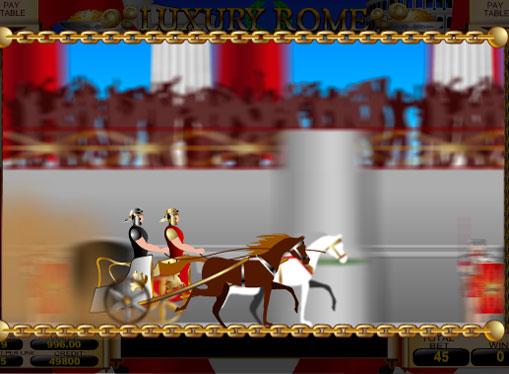 Roata Norocului de Luxury Rome și bonusuri instant