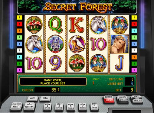 Secret Forest jucați jocuri mecanice online pentru bani