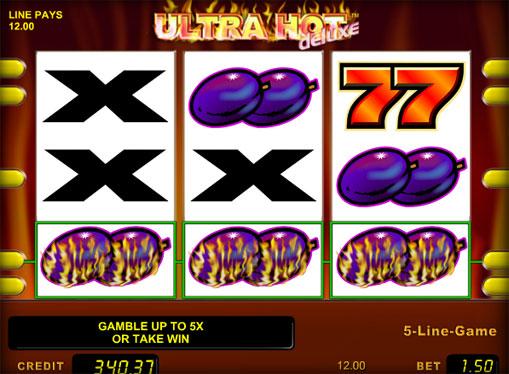 Semnele slotului Ultra Hot Deluxe