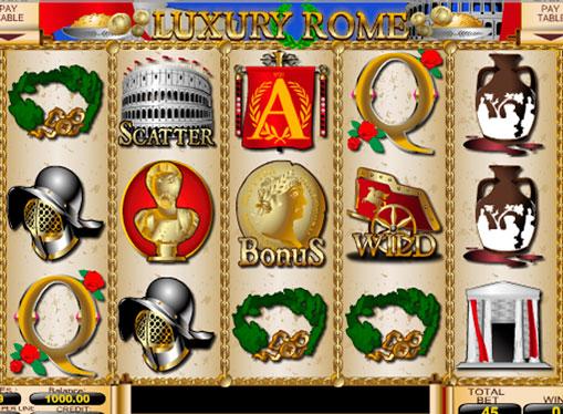 Tamburi de mașini de Luxury Rome jocuri mecanice