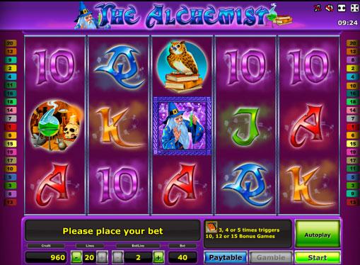 The Alchemist jucați slotul online