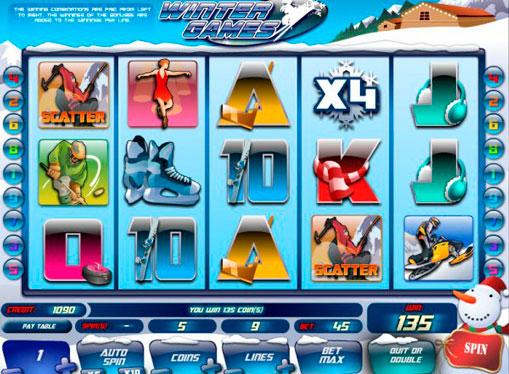 Winter Games jucați jocuri mecanice online pentru bani